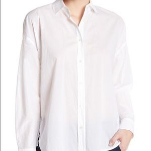 New | Vince Easy Shirt Tail Front Shirt XS